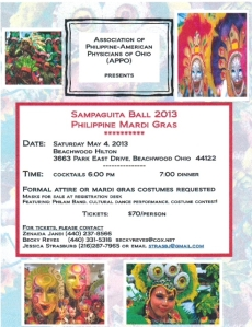 sampaguita ball invitation 2013